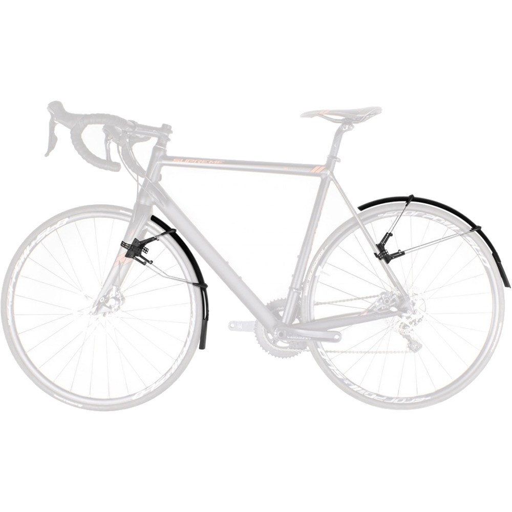 zestaw błotników do roweru szosowego