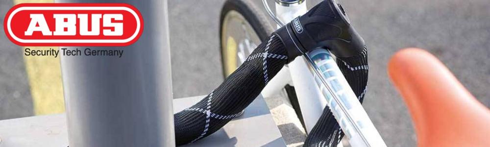 baner marki Abus zapięcia rowerowe