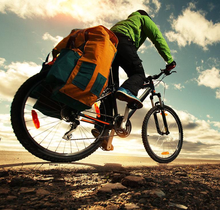 sakwy merida na rowerze