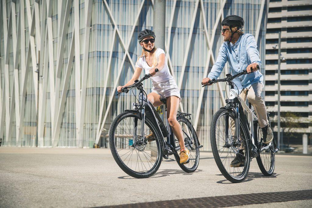 rowery elektryczne miejskie damskie i męskie