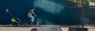 przyczepka rowerowa baner