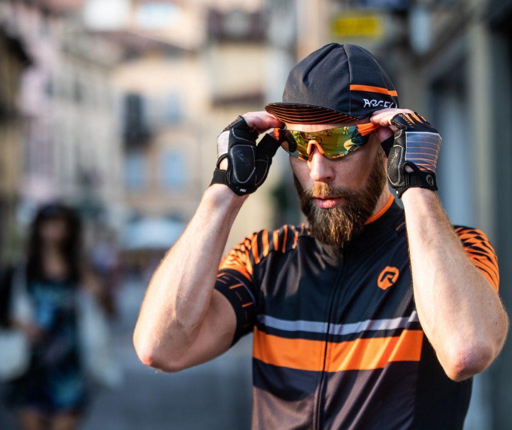 rogelli okulary rowerowe przeciwsłoneczne