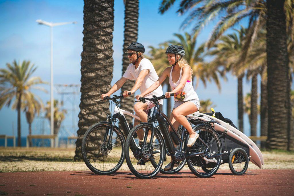 rower elektryczny dla niej i dla niego