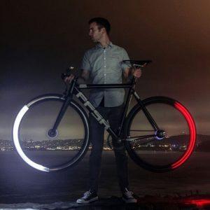 oświetlenie rowerowe w komplecie