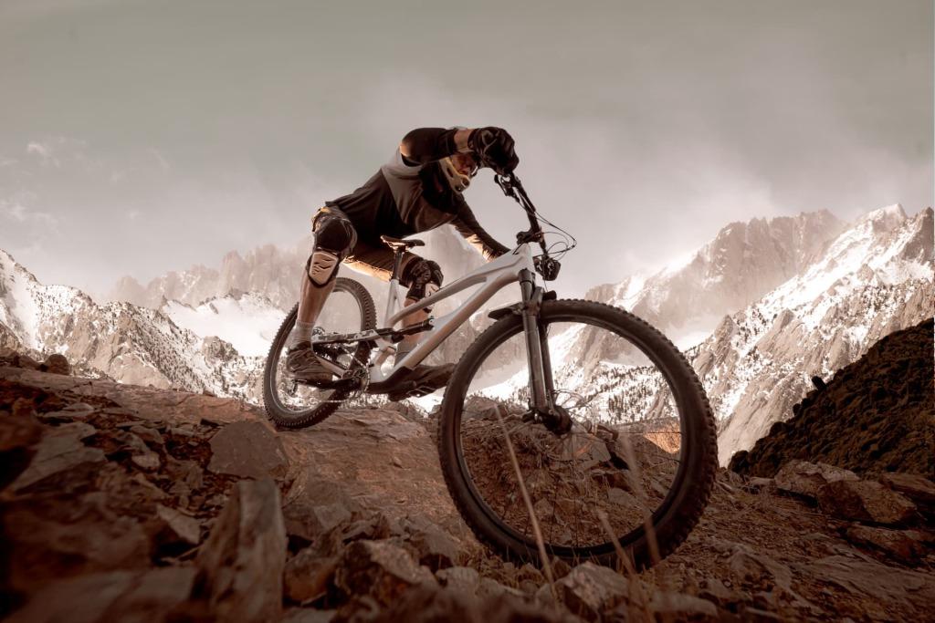 ochraniacze na rower chronią pr