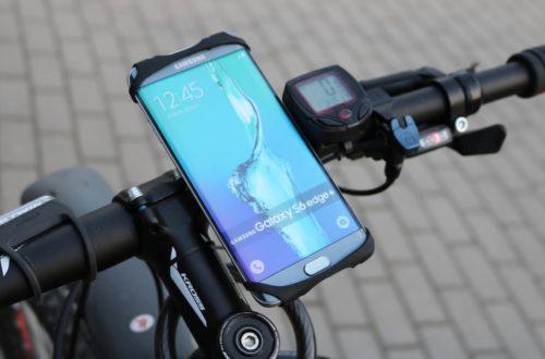 Wykorzystanie uchwytu rowerowego na telefon w rowerze górskim