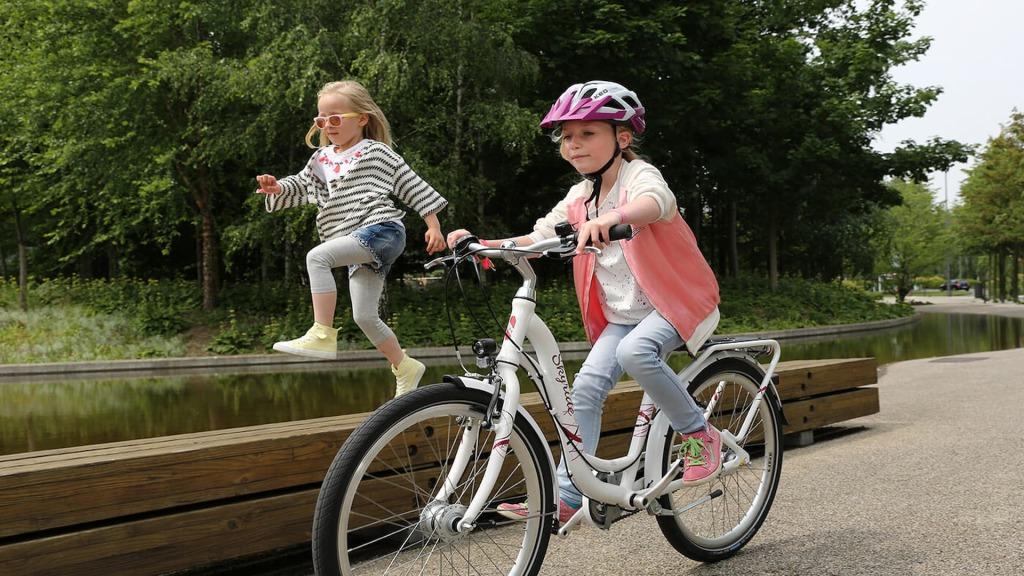 Rower dziecięcy używany przez dziecko