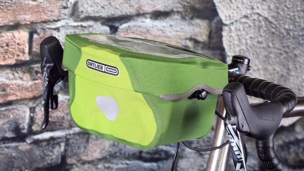 wbudowany mapnik rowerowy w torbę ortlieb