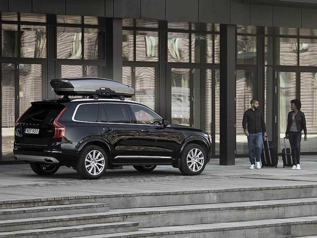 box dachowy w aucie typu SUV