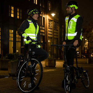 Odblaski na rower chronią nas w trakcie jazdy